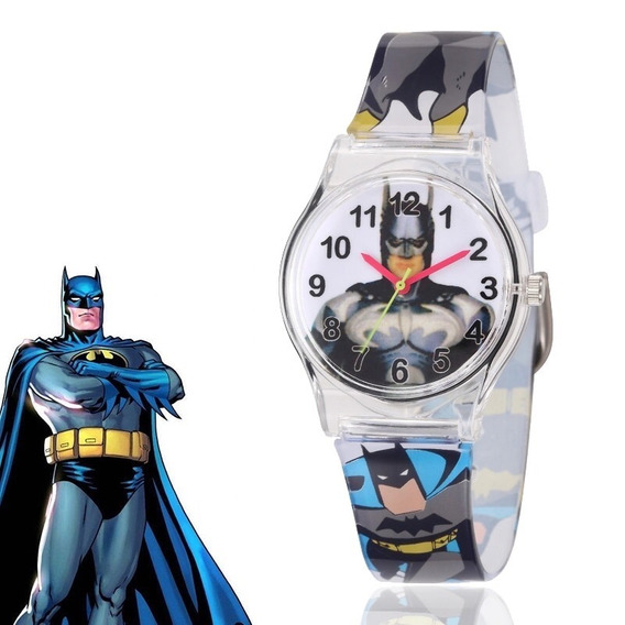 Reloj Batman Correa Silicón Infantil O Adulto