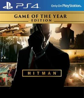 Hitman Game Of The Year Edition Ps4 Digital 1° Envio Ya!!