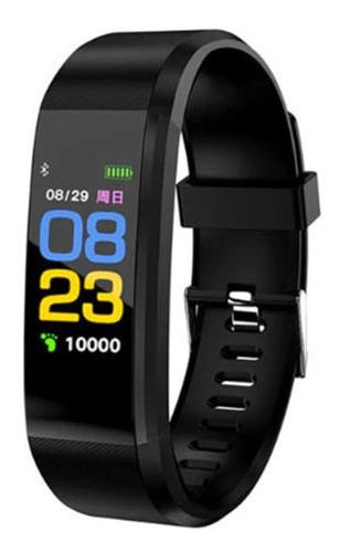 Smartband Smartwatch Com Frequência Cardiaca Hotclocl Preta