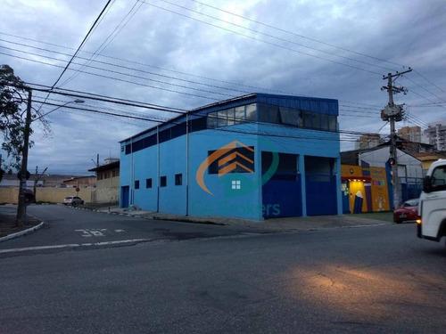 Galpão, 400 M² - Venda Por R$ 1.600.000,00 Ou Aluguel Por R$ 6.300,00/mês - Vila Endres - Guarulhos/sp - Ga0008