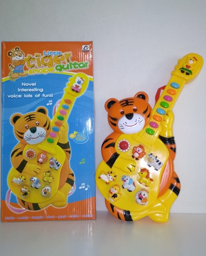 Instrumento Musical Para Bebe Guitarra Tigre