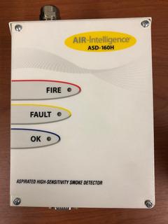 Edwards/air Intelligence Asd-160h. Detector Humo Aspiración