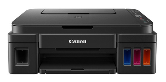 Impressora a cor multifuncional Canon Pixma G3111 com wifi 110V/220V preta