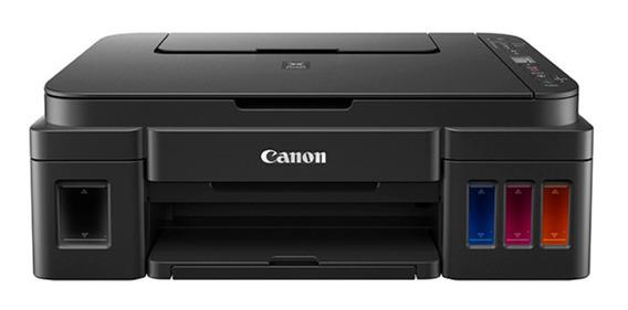 Impressora a cor multifuncional Canon Pixma G3111 com Wi-Fi 110V/220V preta