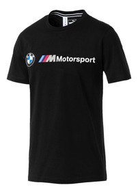 Playera Puma Bmw 2019 Negro 578694-01 Look Tendy
