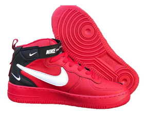 Tenis Nike Air Force Unissex Gratis Kit C/ 3 Pares De Meias