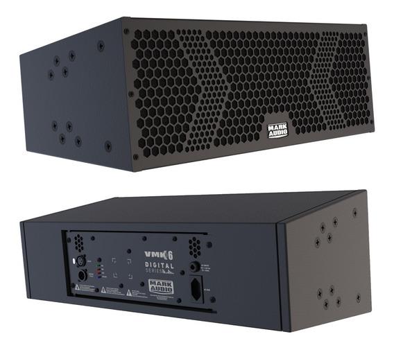 Caixa Amplificada Compacta Line Mark Áudio Vmk6 Profissional