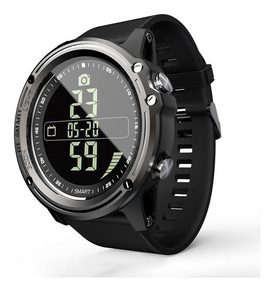 Relógio Inteligente Unissex Lokmat Mk07 Ip68 Impermeável Com