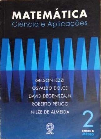 Livro Matematica 2ºano 1ªe Gelson Iezzi Frete Grátis