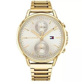 Relógio Tommy Hilfiger Feminino Aço Dourado - 1781916