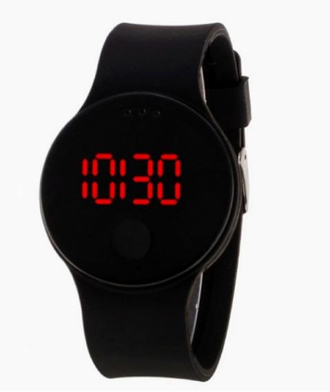Relógio Digital Masculino Led Data Horário 10 Atm Barato