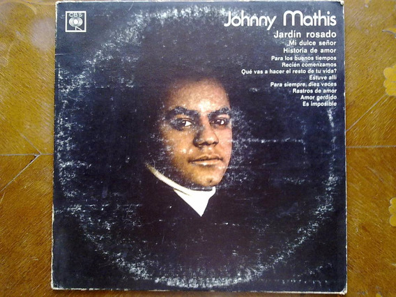 Johnny Mathis - Jardín Rosado. Disco De Vinilo Lp