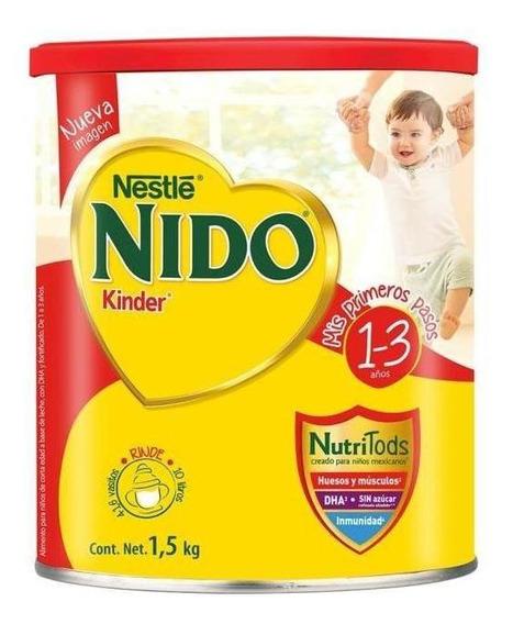 Fórmula para lactantes en polvo Nestlé Nido Kinder en lata de 1.5kg