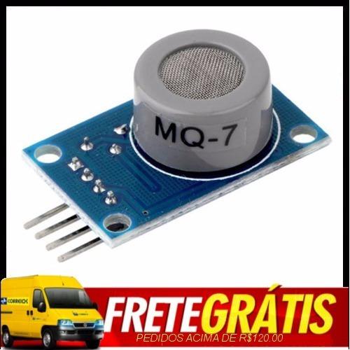 Mq-7 Modulo Sensor De Gás Monóxido De Carbono Mq-7 Arduino