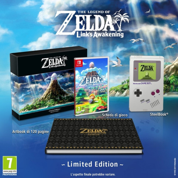 Links Awakening The Legend Of Zelda Limited Edition Switch