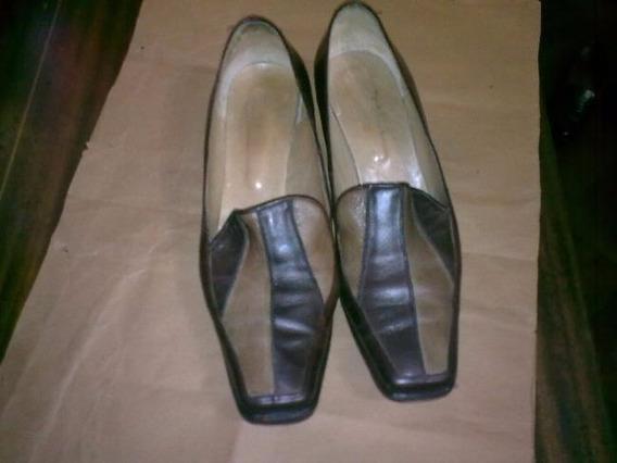 Zapatos De Cuero De Vestir N°41