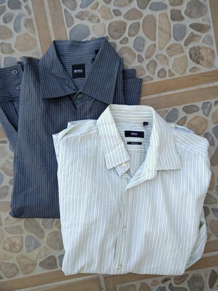 Camisas Hugo Boss Talla M Y L