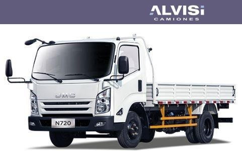 Jmc N720 Medium 3.450 Kgr De Carga T. Isuzu + Iva