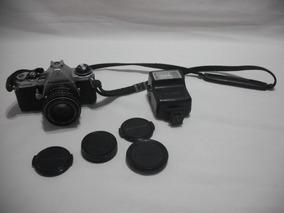 Maquina Fotografica Pentax Codr Asahi Flash Conf Anuncio