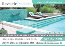 Revestimiento Para Piscina Veneciano Biselado Y Aquavations