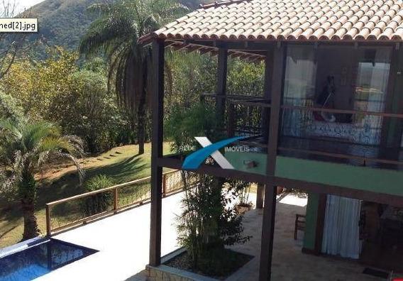 Casa A Venda Condomínio Canto Das Águas Em Rio Acima Com 6 Quartos 850 M² - Ria Acima/mg - Ca0731