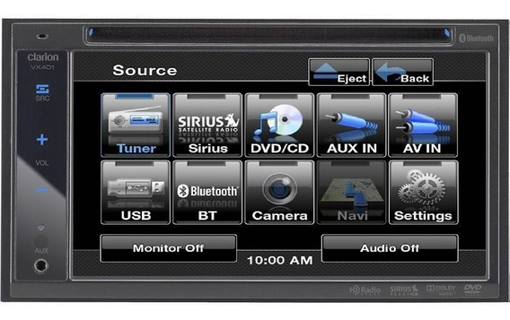 Dvd Player 2 Din Com Usb E Bluetooth Vx401 B