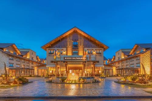 Apartamento 2 Dormitorios Alto Padrão Para Venda Em Gramado-rs No Wyndham Termas Resort & Spa, Ótima Opção Para Lazer E Investimento - Ap02652 - 69396383