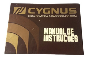 Raro Manual Cygnus Cp 1800 - Formato Digital!!