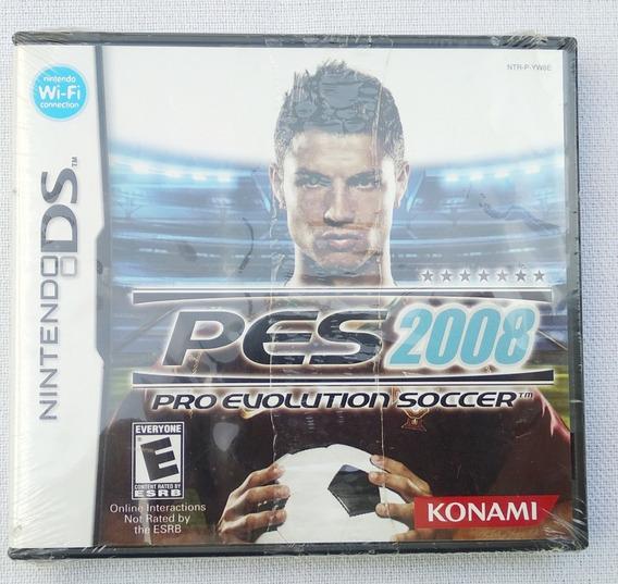 Jogo Nintendo Ds Pes 2008 Lacrado Veja Konami