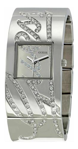 Relógio Guess U13552l1 Feminino Aço Inox Cristais Swarovski