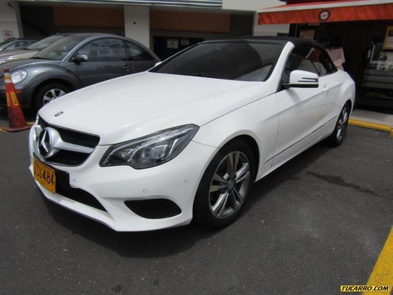 Mercedes Benz Clase E Cabriolet