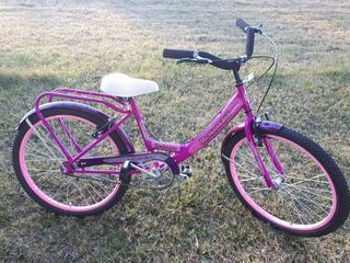 Bicicleta De Nena Rodado 24