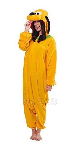 Disfraz De Adulto Pluto Kigurumi