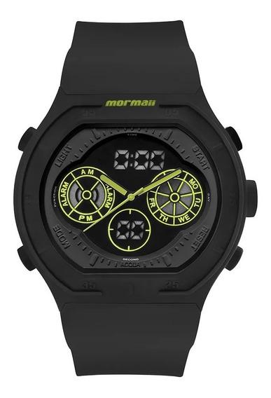Relógio Mormaii Masculino Acqua Mo160323ba/8v Lumi Preto