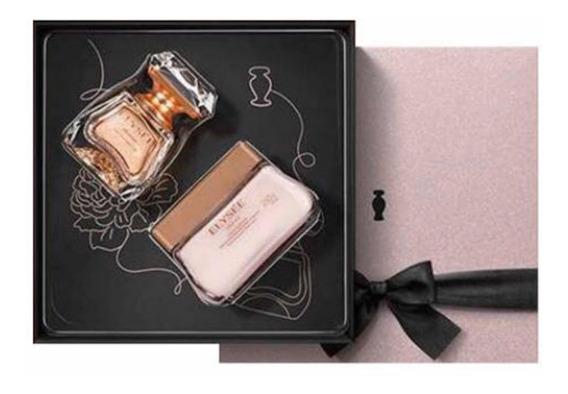 Oferta Kit Presente Elysée Eau Parfum +creme Acetinado