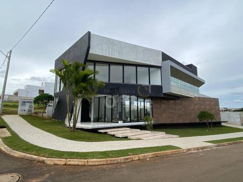 Casa À Venda, 264 M² Por R$ 1.900.000,00 - Condomínio Residencial Grand Trianon - Anápolis/go - Ca0660