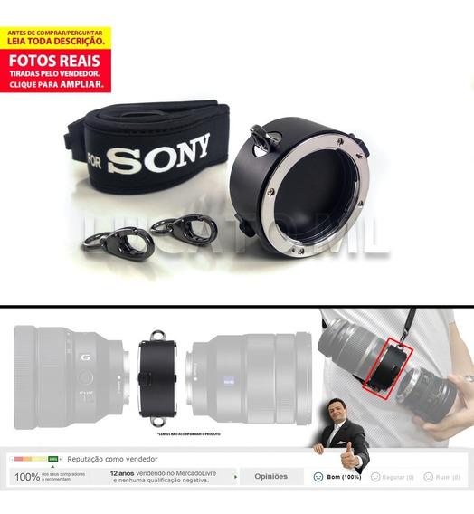 Suporte Para Lente Sony E-mount 2x1 Porta Duas Lentes | Ap