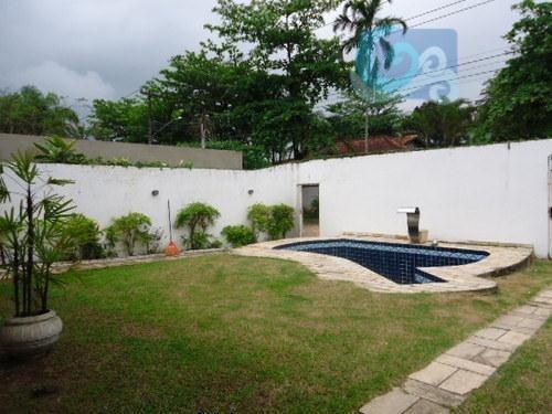 Imagem 1 de 6 de Casa À Venda, Praia Do Pernambuco - Guarujá - Ca0083