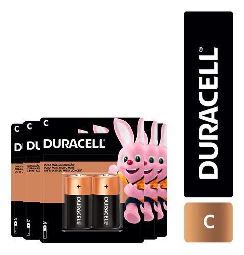 Imagen 1 de 1 de Pack 16 Pilas Alcalina Duracell Tamaño C / Superstore