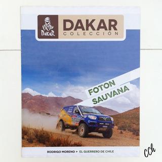 Revista Colección Dakar Foton Sauvana Rodrigo Moreno 1/43