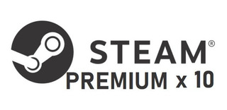 Random Premium Steam Key Global 10 Keys
