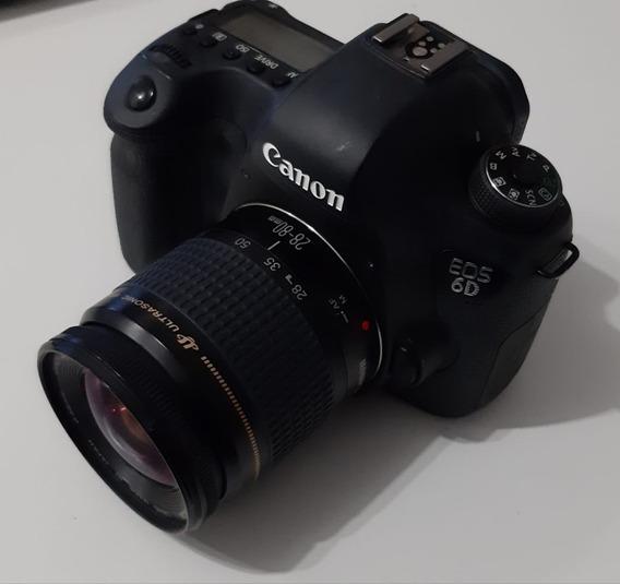 Câmera Canon Eos 6d 20,2mp