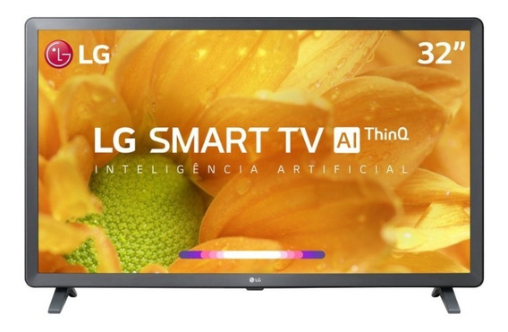Smart Tv Led Hd 32 Polegadas LG 32lm625 Thinq Al Pix90
