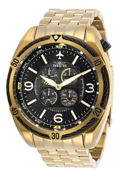 Precioso Reloj Invicta Aviator Bolt 28087 Flight Series
