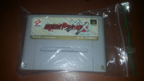 Castlevania Dracula X Original Super Famicom