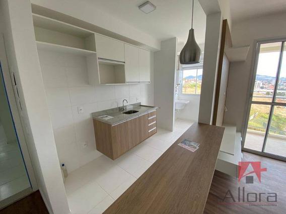 Apartamento Com 3 Dormitórios Para Alugar, 81 M² Por R$ 2.900/mês - Condomínio Resort Soleil - Bragança Paulista/sp - Ap1047