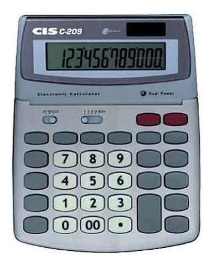 Calculadora Mesa 12 Dígitos Cis 209