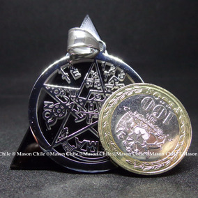 Tetragramaton Acero 34mm, (tetragrammaton) + Cadena De Acero