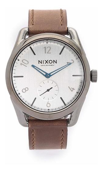Relógio Nixon The C39 Gunmetal / Chestnut
