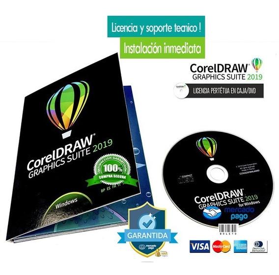 Coreldraw Español Graphics Suite 2019 -instalación Inmediata